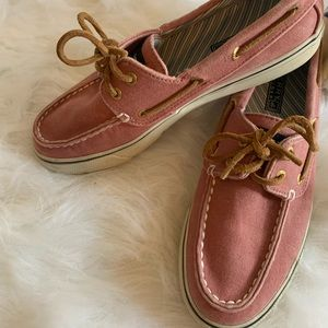EUC sperry top sider boat shoes size 6.5